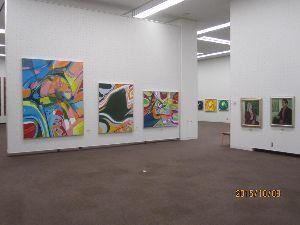 抽象を描いてみませんか 汎美展におけるdantuku=故人・吉田敦彦氏の作品です。↓