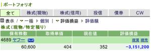 4689 - ヤフー(株) 現物でヤフーのみ持っている者です。 右に同じくガチホしながら買い増しも計画中です。