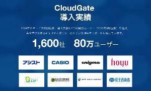 3788 - GMOグローバルサイン・ホールディングス(株) CloudGate UNO と シングルサインオン連携を開始  クラウドサインに遅れてましたが グロ