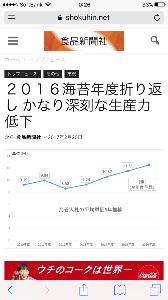 2917 - (株)大森屋 今年度の海苔生産が折り返し地点を少し過ぎたが、昨年度よりも状況が悪い。まだ後半戦が残っているが栄養塩