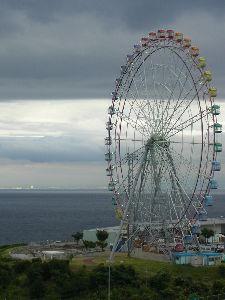 なんとなく写真      瀬戸大橋の観覧車