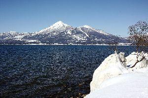 なんとなく写真 猪苗代湖と磐梯山