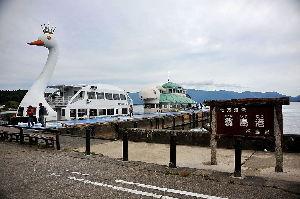 なんとなく写真 猪苗代湖の遊覧船