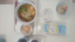 (*_*(゚。゚) あら、あら・・・・・ 昼は  冷素麺  美味美味  完食です  午後🎵コーラス