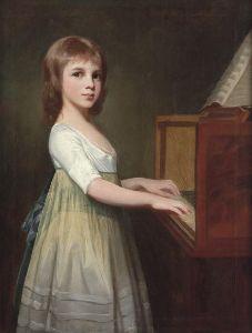 《 窓 梅 神 社 》 George Romney (1734 – 1802)   Miss Margaret