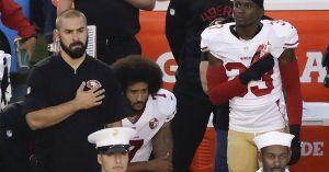 《 窓 梅 神 社 》 トランプ大統領、NFLの選手たちが国歌斉唱中に膝を付いて人種差別への講義を示す行為がオーナーたちによ