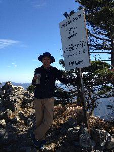 いつか・・・ 土曜日 いい天気だったので  今年最後の登山に 紀伊半島にある百名山 2座に登って来ました❗️  と