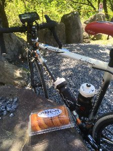 OO 自転車に乗ろう3 OO 最後におからドーナツ!  南会津は、玉梨豆腐茶屋だったっけ!?懐かしいですねー(o^^o)  さてさ