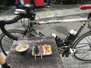 OO 自転車に乗ろう3 OO この後、玉川兄弟に会って、玉川上水沿いに小金井公園、野川を下って、深大寺で団子食べて、多摩サイに戻る