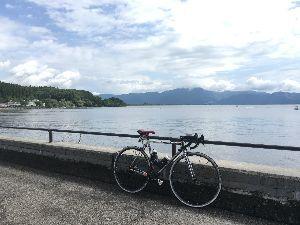 OO 自転車に乗ろう3 OO 会津ポタ・・・  皆さーん、遅くなりました! 雷雨、大雨、関東は猛暑の中、地元をよく知っている方々の