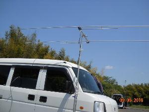 アマチュア無線 おしさぶりです。  休みの日限定ですが、作業可能です。  JQ1UNI@jarl.com で、メール