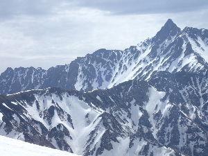 中高年単独行女性、この指トマレッ! GW雪山、がっつり10日間籠ってました。 計画といってもたいしたことなく、地図だけ見て立山室堂から入