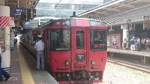 鉄道写真投稿 特急ゆふ別府行き
