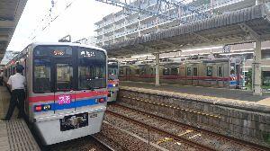 鉄道写真投稿 京成佐倉にて