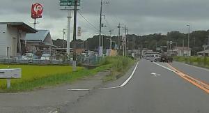 ドライブレコーダー 迷写真 直接、事故を目撃。(部分アップ)     事故現場には何度も遭遇してますが、このケースは初めて。