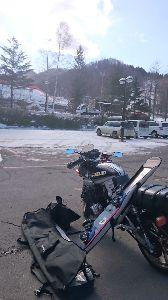 刀 元気ですか! カタナでスキー場に行って来ました。