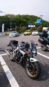 刀 元気ですか! 日帰りで箱根、富士を走って来ました。 天気も良く道も混まず気持ちよく走れました。