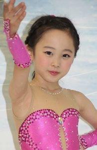 本田望結ちゃん 画像集 スケート画像3