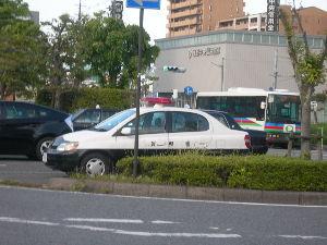 クロネコのNISA(ニーサ) いろいろなくるま ⓸けいさつのくるま(佐賀県警のパトカー?)