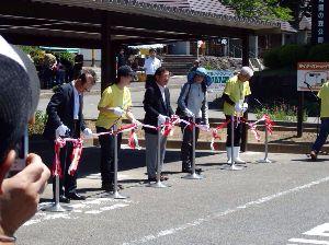 福島県を走ろう 今日は白河の関うの花会イベントに参加しました。 ライダーズピットの屋根付きバイク駐輪場完成式