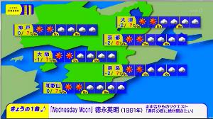 徳永英明さんを応援しましょう♪ まゆ吉さん♡からの「Wednesday Moon」   今夜の「ニュースチェック11」で【Wedne