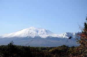 野草に関する情報をお寄せください! 先月26日に撮った浅間山です。
