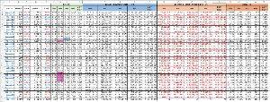 4582 - シンバイオ製薬(株) 野村のポジションがどんなものか知りたくて、仮定のもとにデータ流し込んでみた。 汚いエクセル表でゴメン