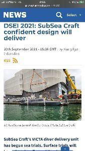 CYRN - サイレン イギリスのポーツマスを拠点するSubSea Craft(サブシークラフト)が開発するVictaは世界