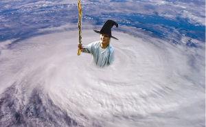 真実しか語りません(=゚ω゚=)☀ お前か!? 災いだけでなく台風まで作って撒き散らしとるんは!?