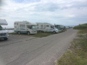 キャンピングカー 追伸去年のキャンプの景色