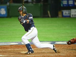 ☆★ 松田 宣浩 ★☆ MLBの先輩和田から、見事な一発! お見事でした!  3安打猛打賞で侍JAPANの勝利に貢献。 流石