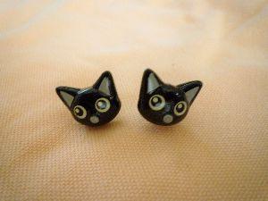 ◇◆辰年生まれの暖話室◆◇ 猫ちゃんピアス  買いまひた(^^)  今の一番お気に入り♪