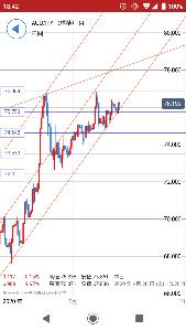 ヌコと股割き豪ドル円悲喜交々の会 このまま高値更新するなら次は77.9になるのかね。