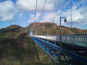 茨城・栃木・福島の山に出かけませんか? 昨日は、ミトヤスさんの奥様、MIZOご夫妻、カツカナさん、askさんと竜神橋の周辺の散策と新蕎麦を味