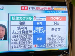 REGN - リジェネロン・ファーマシューティカルズ 今、テレビで放送していますね!  抗体カクテル療法に緊急使用許可になるか