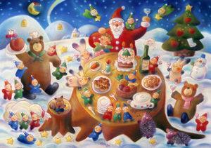 しりとり俳句、川柳ラリー スルーする 黙って眺めて 見てるだけ   メリークリスマス しばらく覗かせてください