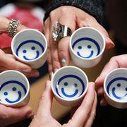 日本酒で乾杯(´Д`)ハイボールでラリった乙