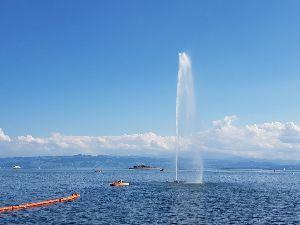 <ラウダ航空> 週末は土日でスイスとの国境に近いBODEN湖へ出かけました。天気が良くて風光明媚でしたよ。