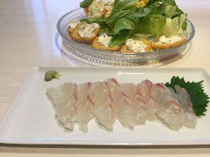 7261 - マツダ(株) > 今週はディールで利益が出せたので > 土曜のおつまみは みやび鯛 の刺身だ。 &gt