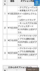 7261 - マツダ(株)  >おそらく1番売れ筋は1.5G, >排気量、サイズ的にライバルのインプレッサより20万