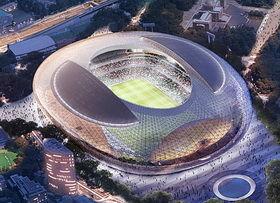 J・G・バラードを好きな方 【新国立競技場】 新国立競技場のデザインがもめている。 私はもともと「東京五輪開催反対」なので「やっ
