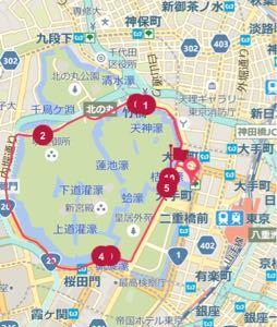立ちスレ「立ち話のスレッド(^_^)」 今日は小雨の中皇居を2周、すごく涼しかった。 次回は後楽園、上野、浅草方面を周ってみようかな(^^)