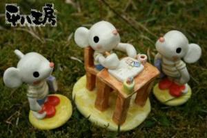 ネズミさんのお勉強部屋