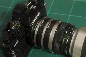 フイルムカメラ日記 (たまにデジカメ) OM瑞光マクロ80mm 1:1と刻印があっても明るさではなく等倍撮影用ということで開放絞りはF4.0