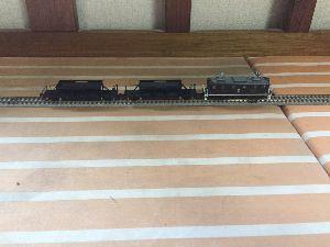 鉄道模型(N)を始めました♪ 工臨なう 確か大井川鐵道も1998年にホキ800をJR東海から譲渡してもらいましたな…