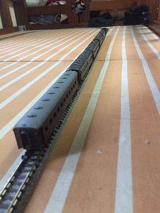 鉄道模型(N)を始めました♪ かわね路の最後尾…