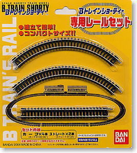 鉄道模型(N)を始めました♪ 以前に販売されてたBトレインショーテー専用レールセットを新品で2個残ってる店を見つけて購入