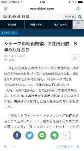 6753 - シャープ(株) へー