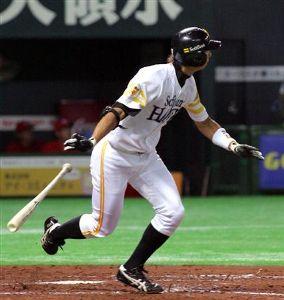 大きく羽ばたけ!福田秀平#37 イカリングさん、毎度です。 (^ω^)ゞ  福ちゃんはこの頃、守備固めでよく起用されるよ