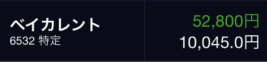 6532 - (株)ベイカレント・コンサルティング 長期ホルダーで大きなボラは何度か経験しているんだけど、株価が上がると、その1割も大きくなるからドキド